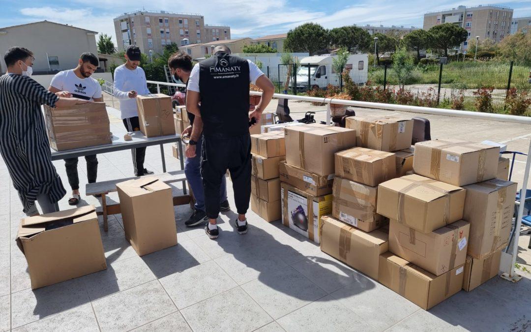 Collecte de matériel médical : merci pour votre mobilisation